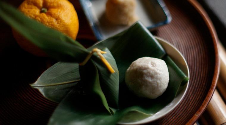 柚子生麸餅